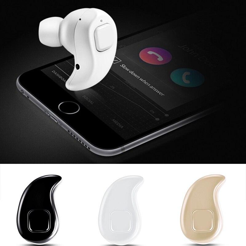 OOTDTY In-Ear Earphone S530 Mini Wireless Bluetooth V4.0 Sport Music Earbud Headset With Mic