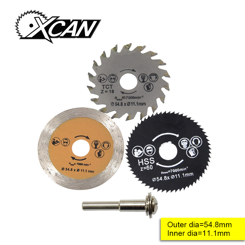 Out Diameter 54.8 Mm High Quality Mini Circular Saw Blade Wood Cutting Blade