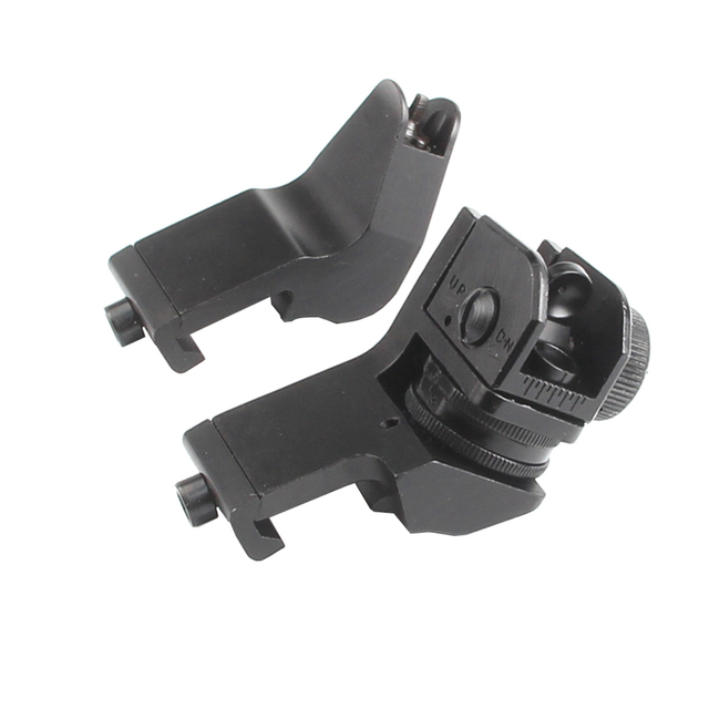Ar15 Ar 15 Ar 15 Front Rear Sight 45 Degree Offset Rapid