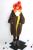 XYJ214 Otoño E Invierno 2016 suelta reversible dos caras color de forro polar con capucha de gran tamaño largo trench coat mujeres