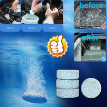 1PCS=4L Water Multifunctional Effervescent Spray Cleaner - Glass Cleaner Concentrated Window Cleaning Floor kitchenware Cleaning(China)
