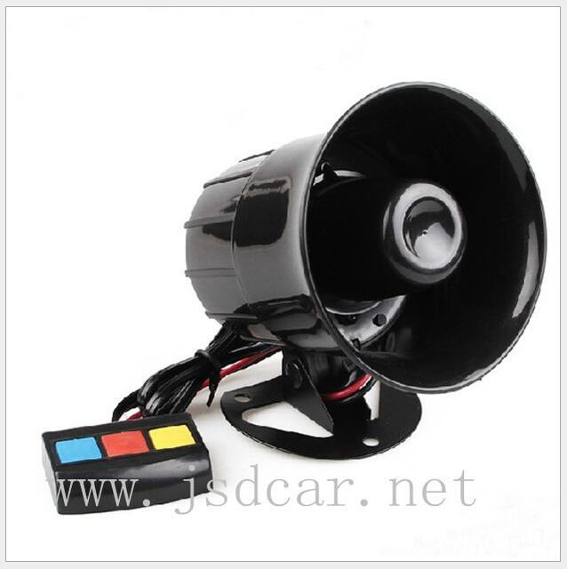 Alarma de la motocicleta del coche del altavoz de alarma bocina 30 w 12 V altavoz pa sirena de alarma