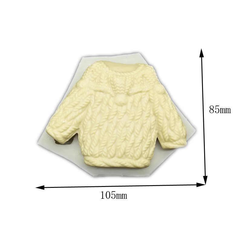 LY 0155 Baby свитер силиконовые кухонные формы для выпечки быстрого прототипирования