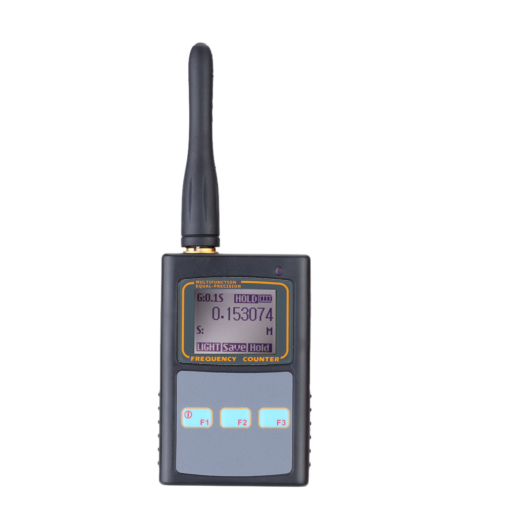 Hot Sale Original Mini Handhold Frequency Meter LCD Display Portable Frequency Counter 50MHz-2.6GHz for Two Way Radio Walkie hot sale 100a me mppt240100d 240v solor controller with lcd display