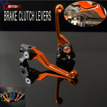FOR KTM 250EXC/EXC-F (SIX DAYS) 2014-2018 250EXC 250EXC-F 2017 2016 2015 2014 2018 Pivot dirt Bike Brake Clutch Lever Handle CNC цена в Москве и Питере