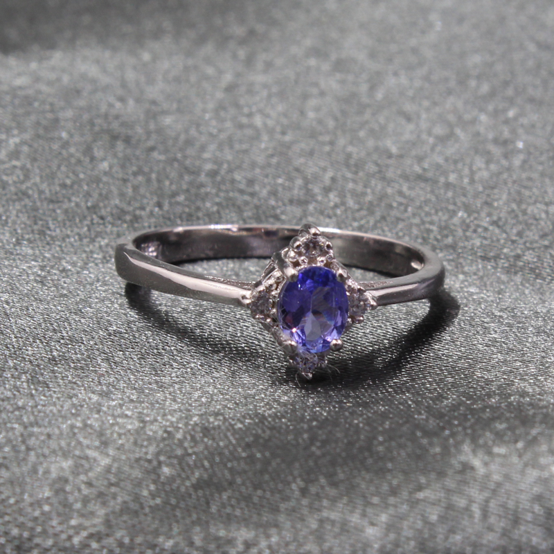 tanzanite engagement rings for women - 800×800