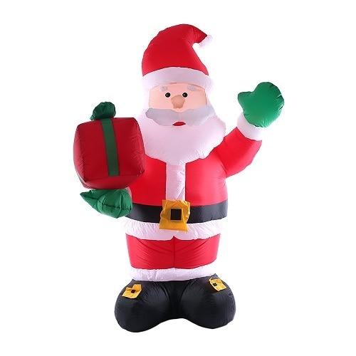 Fluorescence Yellow Snowman outdoor christmas decorations 5c64f4446186e