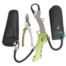New Color Fishing Tackle Set Aluminium Foldable Fishing Lip Grips Light Weight Fishing Pliers Fishing Tools Set