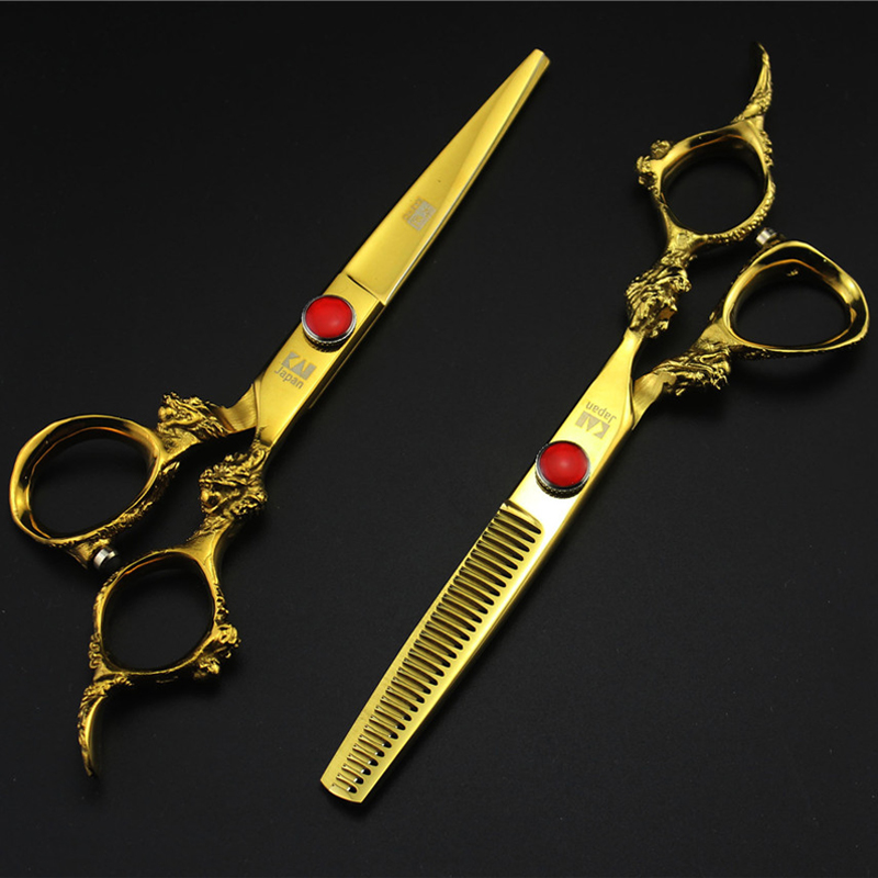 2017 New Professional Barber Scissors Japanese Stainless