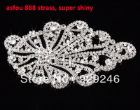 Shiny Asfou 888 Astrass Combination Flower Shape DIY Scarf Weddingdress Breast Waist Shoulder Garment Decoration Accessory