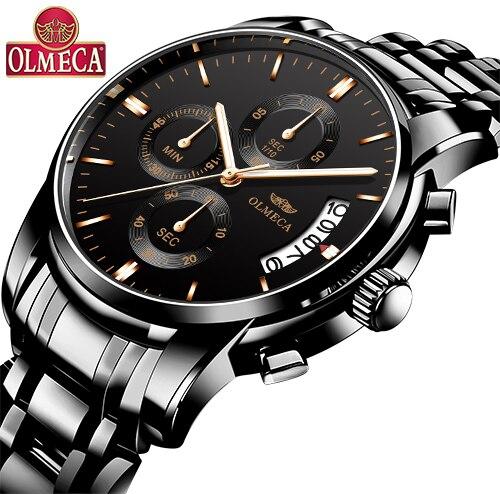 OLMECA relogio masculino Top Brand ceas Men sport ceas impermeabil - Ceasuri bărbați