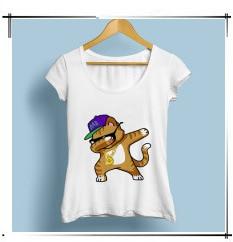 Japan anime funny lizard kaiju eat lamen Harajuku tshirt women 2019 summer new casual short sleeve streetwear t shirt femme
