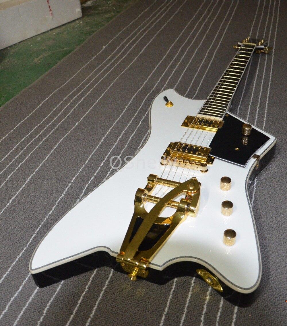 Top Quality QShelly Custom White Jazz Large Rocker Billy