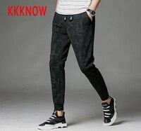 KKKNOW estilo quente dos homens calça casual calças cáqui moda venda quente