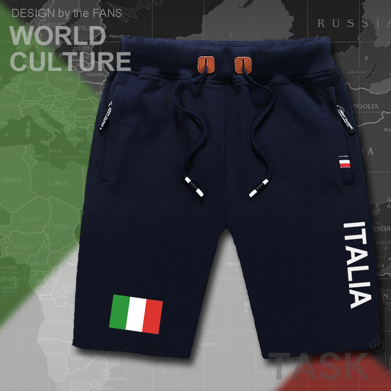 Italy Italia Italian mens   shorts   beach new men's   board     shorts   flag workout zipper pocket sweat bodybuilding new ITA country tops