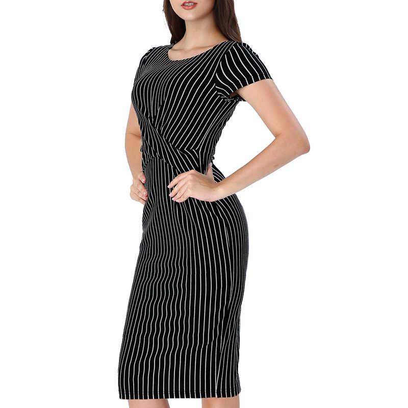 Vfemage Womens Elegante Ruches Kriskras Taille Casual Wear Werk Office Business Party Slim Bodycon Pencil Schede Jurk 1301