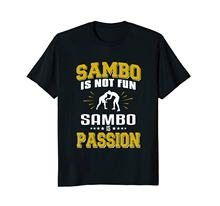 2020 여름 스타일 브랜드 캐주얼 o 넥 남성 탑 & 티 Sambo Is Fun Sambo Is Passion 무술 Arter T-Shirtt Shirt Transfers(China)