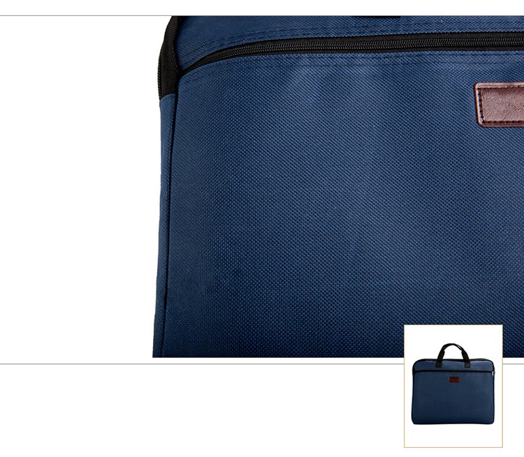 HTB1SHXVXUGF3KVjSZFvq6z nXXaP Portable document bag canvas A4 office zipper bag large capacity men women handbag multi-layer information bag briefcase meeting