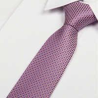 Gravata 8cm nenhum pedido mínimo lotes atacado 2014 laço rosa quente e roxo dos senhores gravatas dos homens do laço de seda