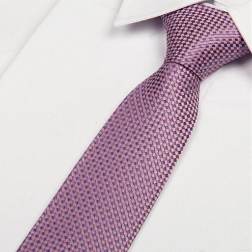 Mens Ties 2014 Hot Pink And Purple Tie Gentlemen Neckties Gravata 8cm  No Minimum Order Lotes Atacado