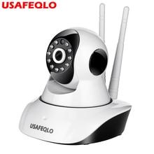 Mini caméra de Surveillance IP Wifi hd 1080P, dispositif de sécurité domestique sans fil, avec Vision nocturne, codec H.265, application ICSEE