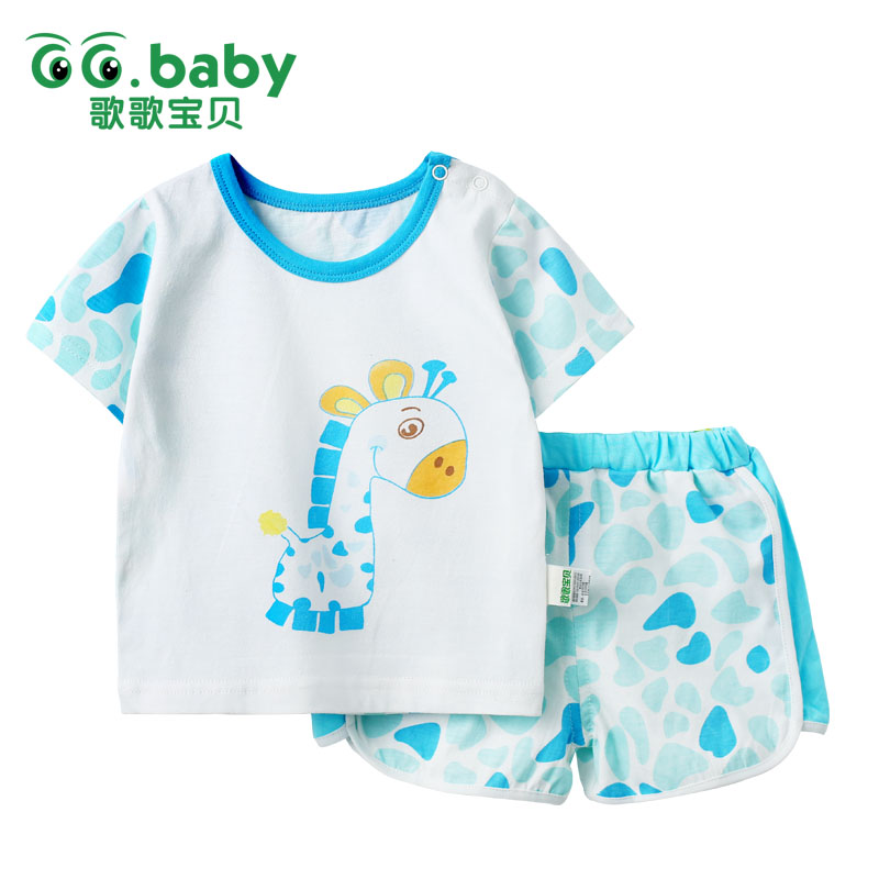 2pcs/set Tshirt Shorts Cotton Baby Clothing Set Newborn Baby Outfits Girl Boy Kids Clothes Sets Summer Style Roupas Bebes Suits winter infant kids baby boy girl clothes sets costume newborn baby clothing sets toddler bebes outfits pajamas wear sport suits