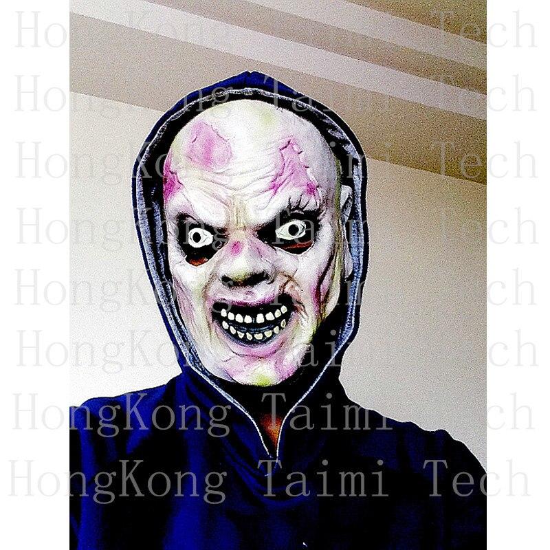 Realista Scary Mask Zombie Anonymous Horror Latex Skull decoration adult Mascaras infestations Killer boy Parasitic Host rotten