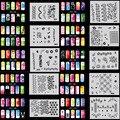 OPHIR 320 Шт./лот 3200 Дизайнов Ногтей Краски Трафареты/Шаблон Листов Аэрограф Ногтей Трафареты Ногтей Инструменты Рисования _ JFH1-JFH16