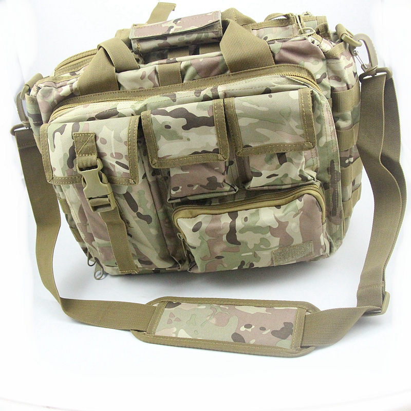Men s Shoulder Bags Molle Outdoor Sport Rucksack 15 Laptop Camera Mochila Military Tactical Computer Bag