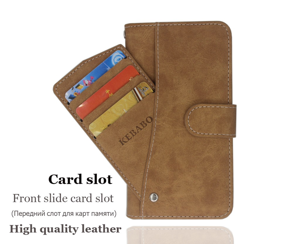 Hot! DEXP Ixion Z150 Case High quality flip leather phone bag cover case for with Front slide card slot