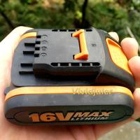 LED 16V Battery 2000mah Li ion for Power Tool Worx