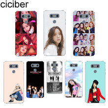 ciciber For LG G6 G7 G5 G4 V30 V35 V40 V20 THINQ Soft TPU K10 K8 K7 K4 2017 2018 K9 K11 + Clear Phone Cases BLACKPINK