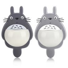 Toothbrush-Holder-Racks Suction-Cups Wall-Stick Bathroom Cute Cartoon Kitchen Children