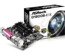 Новые оригинальные компьютерные материнские платы для HTPC Материнская Плата ASRock D1800B-ITX HD mini dual-core CPU