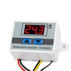 -50 ~ 110C AC220V 12 V 24 V Digital de Temperatura Do Termostato Digital Inteligente Controlador de Interruptor do Regulador