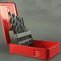 Twist drill sets high speed steel straight shank twist drill reamer bit of drilling hole