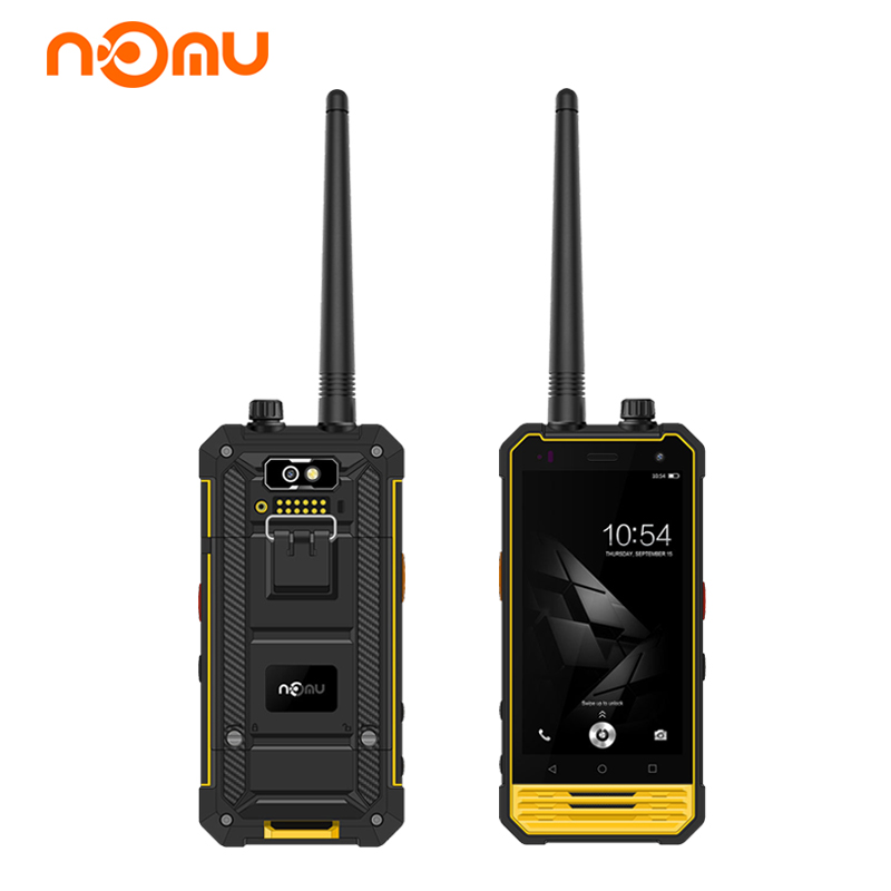 Nomu T18 Intercom Smartphone IP68 4.7 Inch Android 7.0 Quad Core 3G 32GB 5200mAh NFC 4G LTE Waterproof Shockproof Mobile Phone