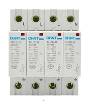 CHINT NU6 II/F 40kA/460V 4P Surge Arrester Protect electric system electrical apparatus thunder instantaneous