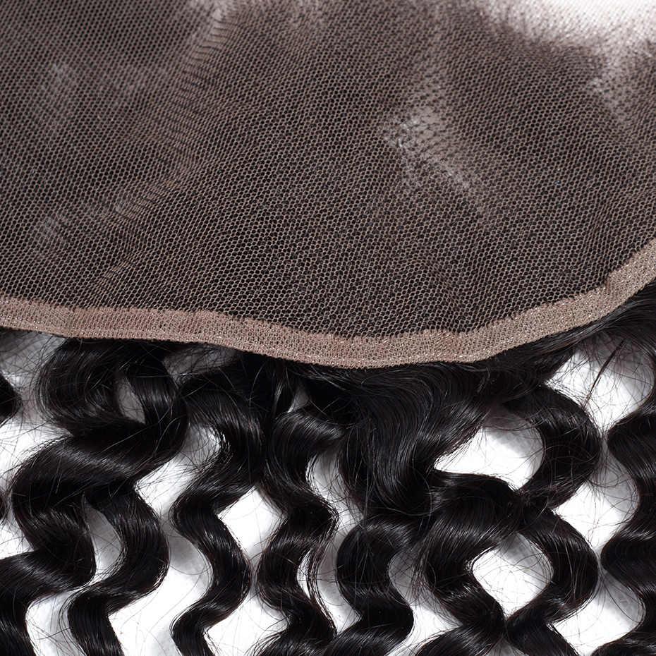 Габриэль волосы 13x4 индийские кудрявые Вьющиеся Кружева Фронтальная застежка Бесплатная/Средняя/три части 8-22 дюймов натуральный цвет не Реми натуральные волосы