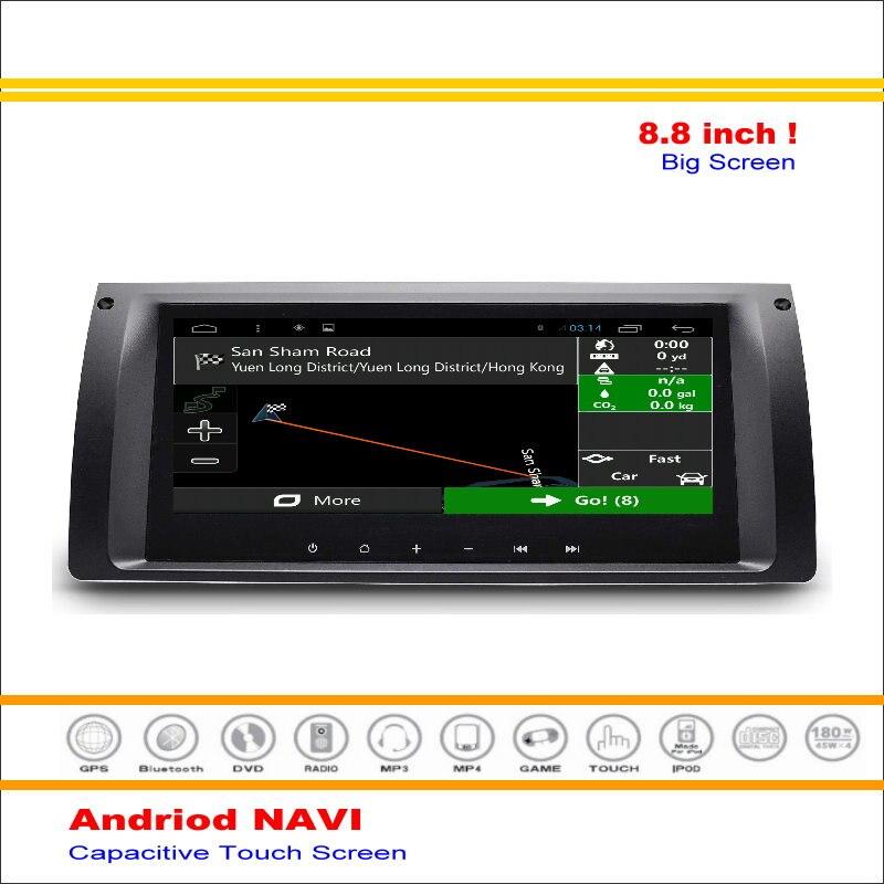 Coche Android Sistema de Navegación GPS de NAVEGACIÓN NAVI Para BMW X5 E39 E53 M