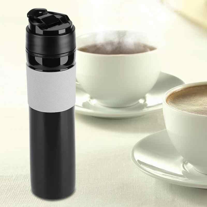 350 мл кофеварка для молотого кофе портативная Кофеварка и чайник, путешествия Кофе Пресс Вакуумная бутылка