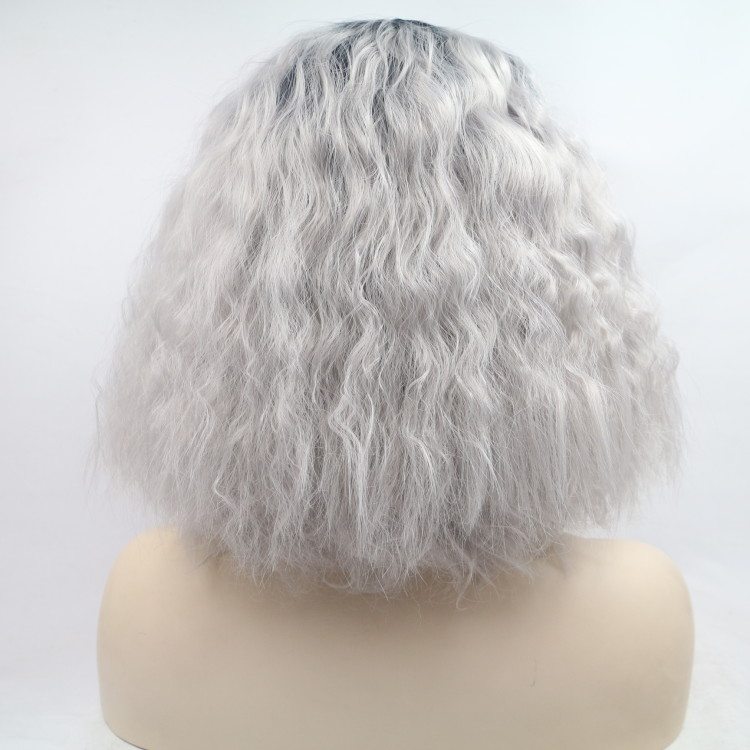 Synthetic Curly Short Heat Resistant Wig for Women