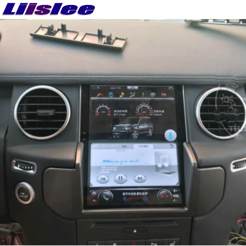For Land Rover Discovery 4 L319 For Range Rover 2G RAM LiisLee Car Multimedia GPS WIFI Audio Stereo Radio Navigation NAVI MAP 3