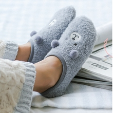 Autumn Winter Thick Coral Velvet Women Socks Cute Plush Cartoon Bear Rabbit Warm Ankle Socks Fashion Home Floor Sleep Socks