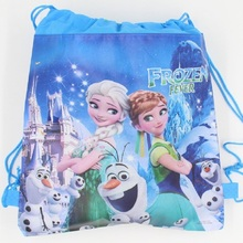 1 pic Ghost woman University school bags kids cartoon backpack drawstring bag & infantile For children bag back to school 11528