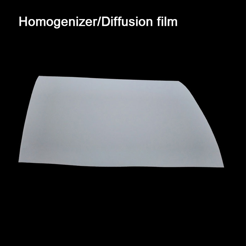 LCD Screen, Homogenizing Film, Flat Panel Light, LED Light Diffusing Film, Uniform Light PET Film, Light Guiding Film