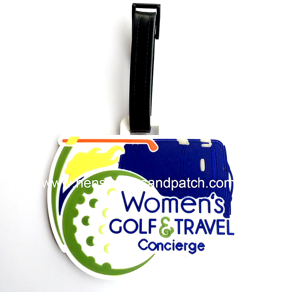 customized soft PVC badge for luggage tag,plastic label,rubber badge,PVC tag,no MOQ