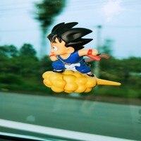 Ornamentos de carro muito legal dos desenhos animados voando dragon ball boneca popular bom estilo com adesivo na janela|Ornamentos| |  -