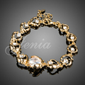 Jenia New Design Real Gold Plated Austrian Crystal Lovely Beetle Chain Bracelet for Women XH051