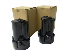 2xPower Tool Battery Replacement for Makita 10.8V 3500mah BL1013, BL1014,194550-6,194551-4,195332-9
